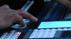 Dj Music mixer Stock Footage