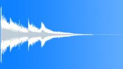 Magic harp stinger - sound effect