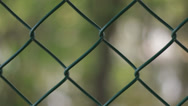 Stock Video Footage of Chain link Fence