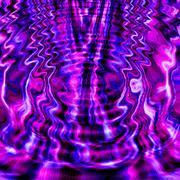 Rippled Plasma Liquid - stock illustration