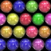 Stock Illustration of Glassy 3D Balls