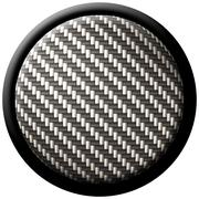 Carbon fiber button Stock Illustration
