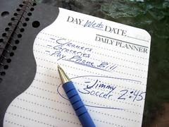 busy day - stock photo