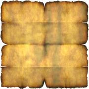 Burnt Parchment Paper Stock Illustration