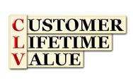 Stock Illustration of customer lifetime value
