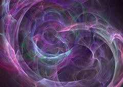 Abstract Fractal Layout - stock illustration
