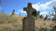 Tombstone Daytime - stock footage