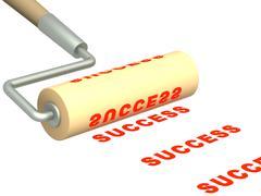 Success Stock Illustration