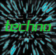 Techno Stock Illustration