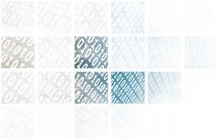 source code technology - stock illustration