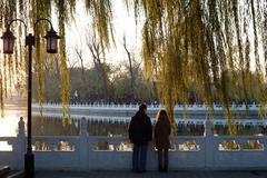 Romantic Beijing Stock Photos