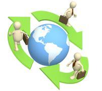 Ecology - stock illustration