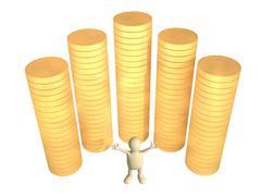 Wealth - stock illustration