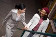 Business Women in the City Stock Photos
