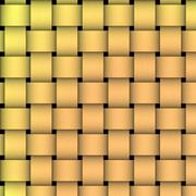 Stock Illustration of Golden Basket Weave