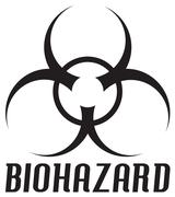 Biohazard Symbol - stock illustration
