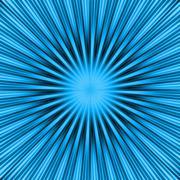 Stock Illustration of Blue Burst