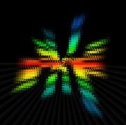 Color Spectrum Blur - stock illustration