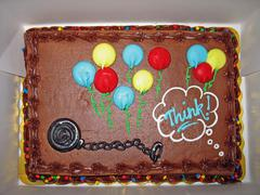 Stock Photo of ball and chain cake