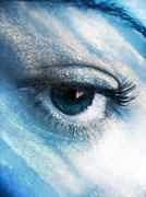 Eye Atmosphere - stock illustration