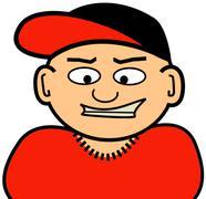 Stock Illustration of Little Homeboy