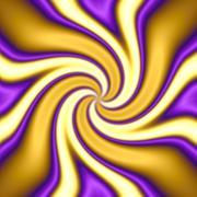 Funky Twirl  Stock Illustration