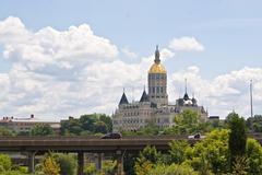 Hartford Capitol Building - stock photo