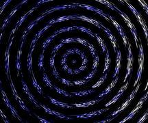 blue vortex - stock illustration