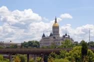 Stock Photo of Hartford Capital Building