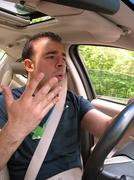 Road Rage Frustration - stock photo