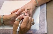 Stock Photo of Manicurist Nail Technician