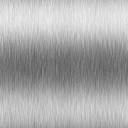 High-contrast brushed aluminum Stock Illustration