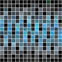 Stock Illustration of Blue Squares Pattern