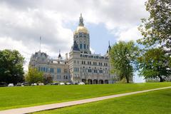 Hartford Capitol Building Stock Photos
