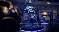 planetarium - stock footage