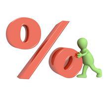 Percent - stock illustration