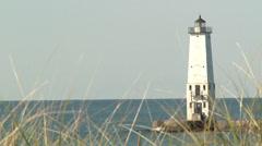 Frankfort Lighthouse Stock Footage