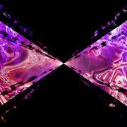 Purple Plasma Vortex Stock Illustration
