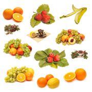 Stock Illustration of Fruits