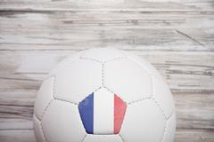 Stock Photo of soccer: france soccer ball background for international competition