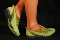 Sports footwear - stock photo