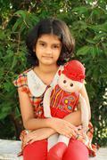 Lovely Indian girl Stock Photos