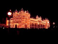 Mysore palace - stock photo