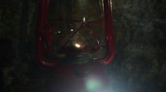 UNDERGROUND HORROR 4 LANTERN LIGHT Stock Footage