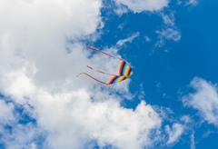 colorful kite - stock photo