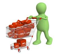 Stock Illustration of Shopping