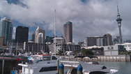 Stock Video Footage of Time lapse of downtown Auckland