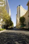 Street Shot in Las Vegas Stock Photos