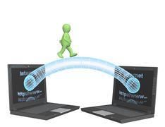 Internet - stock illustration