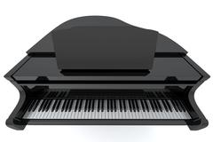 Grand Piano - stock photo